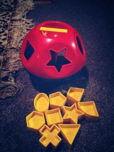 Tupperware toys. They still make this and I still give it as a gift!