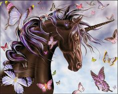 "I was never much of a ""unicorn"" girl, more into fae and pegasus. But I thought this pic was cute."