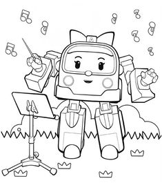 miniforce lucy coloring pages - Yahoo Search Results Yahoo ...