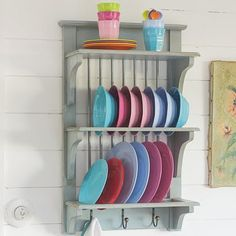 Graham & Green plate rack