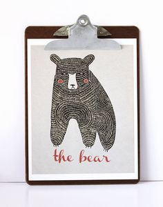 The Bear Print Uncovet