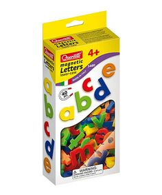 Loving this Lowercase Magnet Letter Set on #zulily! #zulilyfinds