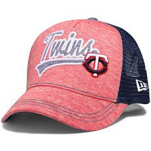 Minnesota Twins Women's Shorty Swoop 9FORTY Adjustable Cap by New Era