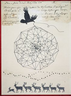chapter 3- The Constellation Gatherers by fiona watson art, via Flickr