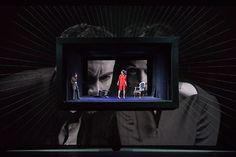 QUARTETT - Teatro alla Scala de Milano - Escenografia d'Alfons Flores - Libretto…