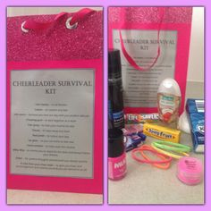 Cheerleaders survival gift, perfect gift for your cheer sister