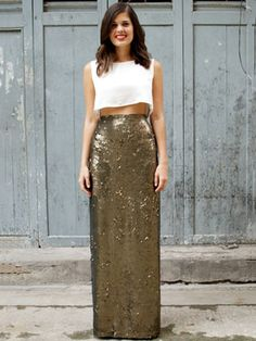 Insta-Obsession: A Sequin Maxi-Skirt You Can DIY This Weekend