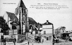 Eglise Saint-Germain de Charonne, rue de Bagnolet / Paris 20ème