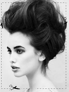 yepp I'd for sure sport this style :) can never have enough back combing