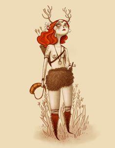 Love Hunter   Ana Varela   Character design: Archer