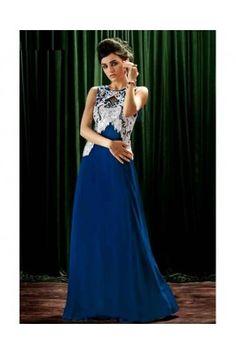 Crepe Princess Royla Blue Color Gown Latest Party Wear Gown, Party Wear Evening Gowns, Party Wear Gowns Online, Gown Dress Online, Wedding Evening Gown, Wedding Gowns, Indian Evening Gown, Indian Gowns, Royal Blue Gown