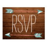 Rustic Adorned with Arrows | RSVP Postcard