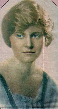Hadley Hemingway, The Paris Wife - she was Ernest Hemingway's first wife