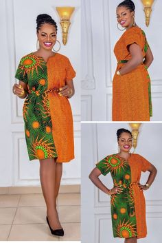 African Dresses For Kids, Latest African Fashion Dresses, African Dresses For Women, African Attire, African Print Shirt, African Print Fashion, Classy Work Outfits, Girls Fashion Clothes, Couture