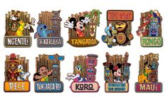 Tiki Garden Mystery Pin Set | Collections By Disney