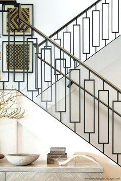 Image result for black metal stair railing