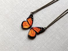 Love this #Butterfly Friendship Necklace Best Friend by @?? ?? B on #Etsy a cool new shop to @Lindsey Weigand Attacks with love!