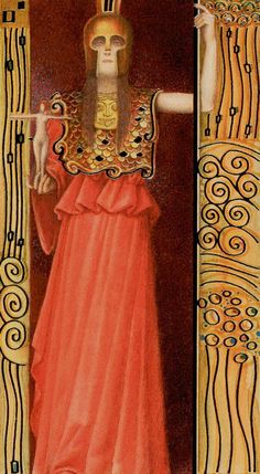Golden Klimt Tarot - III - The Empress