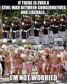 I'm even a Republican conservative but that's funny af