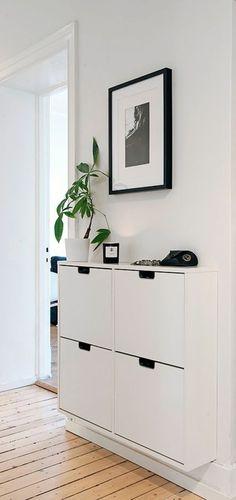 comment bien choisir le meuble chaussure ikea blanc