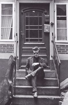 ibeatlesyou:  Stu Sutcliffe in Hamburg, 1961 scan from The Beatles vs. The Rolling Stones. Sound Opinions On The Great Rock 'n' Roll Rivalry