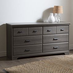 South Shore Versa 6-Drawer Double Dre…