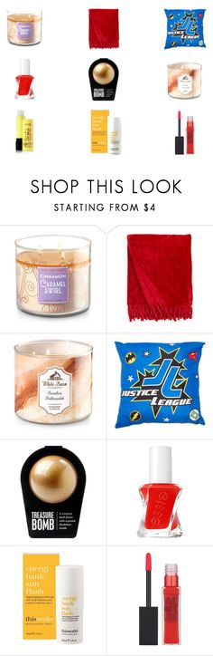 """""""Bart Allen Self Care"""" by indigofudge on Polyvore featuring beauty, Kennebunk Home, Essie, This Works and Maybelline"""