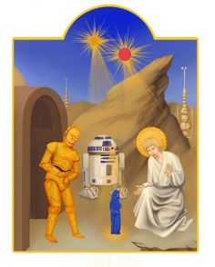 """Star Wars Iconography, by Chawakarn Khongprasert. """"And you will know my name is Jedi when I lay my lightsaber upon thee"""" !   """"Et tu sauras pourquoi mon nom est Jedi quand sur toi s'abattra la vengeance du sabre-laser"""" !"""