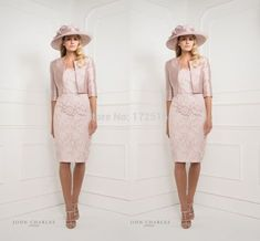 dress and jacket for wedding mother of the bride update april fashion 2018 Mother Of Bride Outfits, Mother Of The Bride, Pink Jacket, Jacket Dress, Wedding Party Dresses, Wedding Outfits, Bride Dresses, Girls Lace Dress, Wedding Jacket