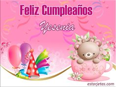 Felíz cumpleaños Yesenia