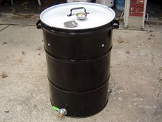 Just one of many ways to build a UDS (Ugly Drum Smoker).