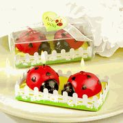 Ladybug Shaped Wax Candles-Give your guests good luck and best wishes, all wrapped up in love and hugs with these cute-as-can-be ladybugs At Solefavors, we consider ourselves lady bug experts After all, when you're in the favor business, a beloved bu Baby Shower Candle Favors, Candle Wedding Favors, Wedding Party Favors, Bridal Shower Favors, Wedding Themes, Wedding Ideas, Baby Ladybug, Ladybug Picnic, Candle Set