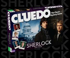 "So, if I'm remembering ""Clue"" right...is Mycroft 'Peacock'? What ever, I call dibs on Sherlock!"