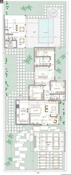 Casa 3 Quartos - 144.37m²