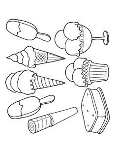 Printable Ice Cream Coloring Pages - AZ Coloring Pages | coloring ...