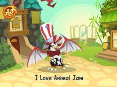 This Is Me On Animal Jam