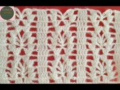 Crochet Cable Stitch, Crochet Stitches Chart, Crochet Lace Edging, Easy Crochet, Crochet Designs, Crochet Patterns, Crochet Bedspread Pattern, Lace Making, Crochet Videos