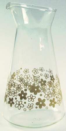juice carafe - spring blossom Pyrex