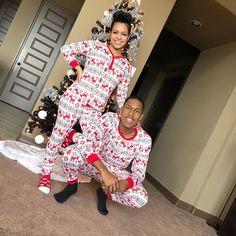 Matching Christmas Pajamas Couples, Couple Pajamas Christmas, Christmas Onesie, Black Couples Goals, Cute Couples Goals, Couple Goals, Matching Couple Outfits, Matching Couples, Couples Onesies