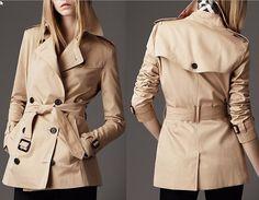 Resultado de imagem para trench coat feminino burberry