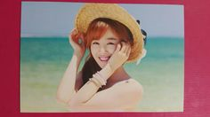 SECRET HAN SUN HWA Official Photocard 4th Mini LETTER FROM SECRET Sunhwa