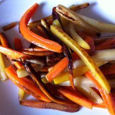 carottes cuisinées Micro Onde, Vegetables, Desserts, Food, Carrots, Recipe, Kitchens, Tailgate Desserts, Deserts