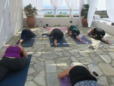 7 Days Luxury Yoga Retreat in Santorini, Greece
