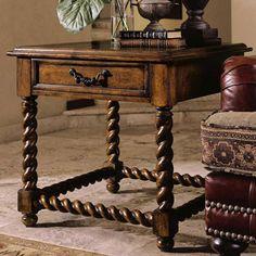 Santa Barbara Barley Twist End Table By Stanley Furniture