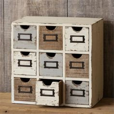 [New] The 10 Best Home Decor Ideas Today (with Pictures) - This piece is one of my absolute favorites! Perfect for office storage jewelry or even for your coffee or tea! There are so many ways this could be used! Shabby Chic Farmhouse, Farmhouse Style Decorating, Vintage Farmhouse, Farmhouse Decor, White Farmhouse, Distressed Decor, Cotton Wreath, Rustic Decor, Office Decor