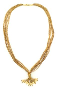 #necklace #jewelry COLLANA ORO FILATO - C2/16