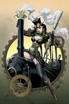 Lady Mechanica - Steampunk