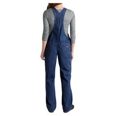 Dickies Women's Relaxed Fit Bib Overalls - FB206