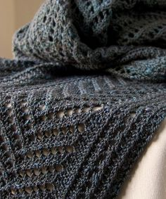 Ravelry: Boiseau Wrap pattern by Megan Goodacre
