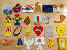 This is the .pdf directions and templates for 24 Jesse Tree ornaments that have been designed to go along with advent readings from The Jesus
